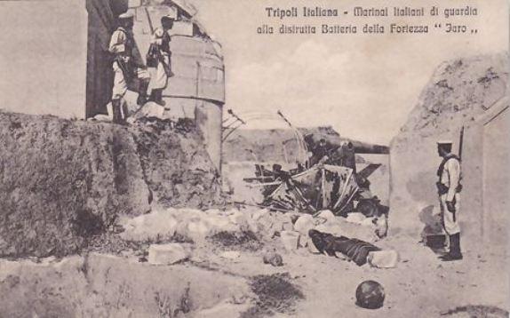 Tripoli Italiana in una cartolina d'epoca - www.lavocedelmarinaio.com