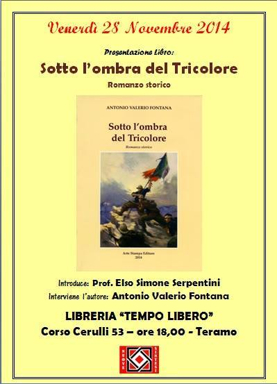28.11.2014 a Teramo Sotto l'ombra del Tricolore - www.lavocedelmarinaio.com