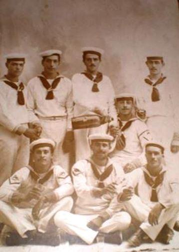 Alcuni Marinai della regia nave Brin f.p.g.c. Carlo Di Nitto a www.lavocedelmarinaio.com