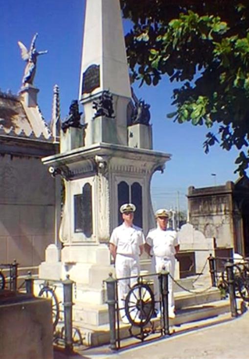 Regia nave Lombardia monumento ai marinai italiani in Brasile - www.lavocedelmarinaio.com