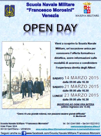 21 e 23.3.2015 Morosini Open day - www.lavocedelmarinaio.com