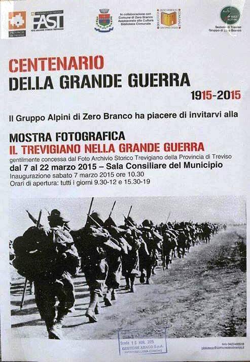 7-22.3.2015 IL TREVIGIANO NELLA GRANDE GUERRA - www.lavocedelmarinaio.com
