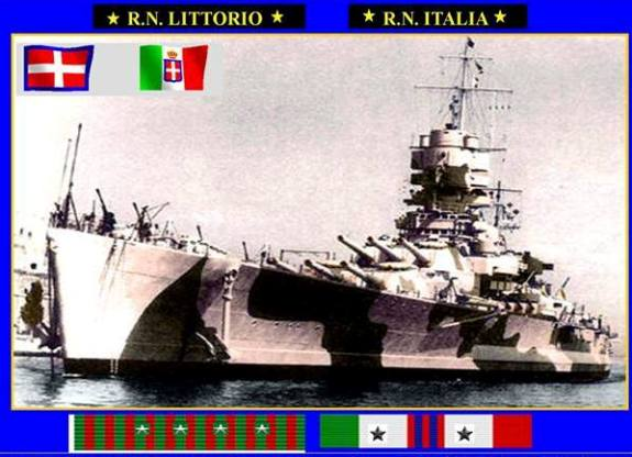 Enzo Ghiandi e la regia nave Littorio   Italia - www.lavocedelmarinaio.com