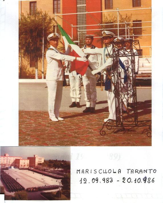Il capitano di vascello Egidio Alberti assume incarico di Comandante delle scuole sottufficiali di Taranto - f.p.g.c. a www.la vocedel marinaio.com