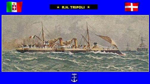 radiazione regia nave Tripoli  www.lavocedelmarinaio.com
