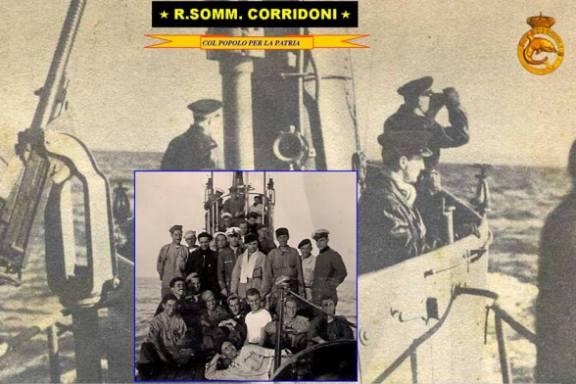 regio sommergibile Corridoni - www.lavocedelmarinaio.com