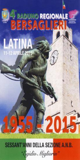 11-12.4.2015 a Latina 4° raduno regionale Alpini - www.lavocedelmarinaio.com