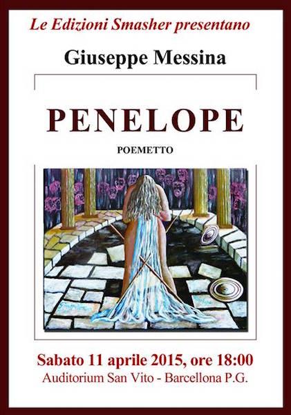 11.4.2015 a Barcellona P.G presentazione del libro Penelope di Giuseppe Messina- www.lavocedelmarinaio.com