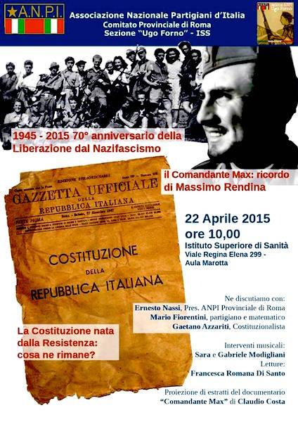 22.4.2015 a Roma Il comandante Max ricordo di Massimo Rendina - www.lavocedelmarinaio.com