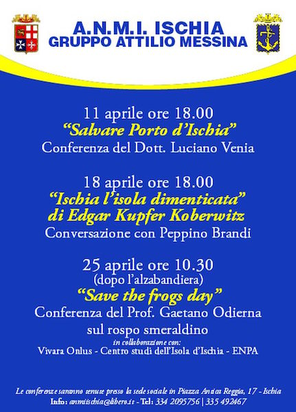 25.4.2015 a Ischia Save the frog day - www.lavocedelmarinaio.com
