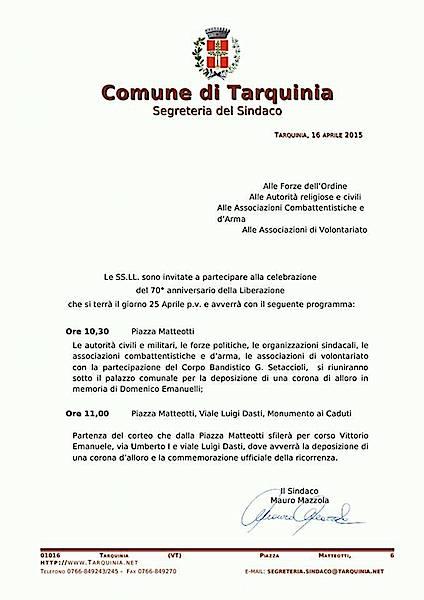 25.4.2015 a Tarquinia - www.lavocedelmarinaio.com