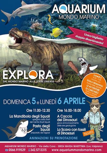 5-6.4.2015 Aquarium Mondo Marino - www.lavocedelmarinaio.com
