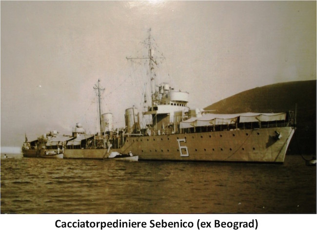 Cacciatorpediniere Sebenico ex Beograd - copia - www.lavocedelmarinaio.com
