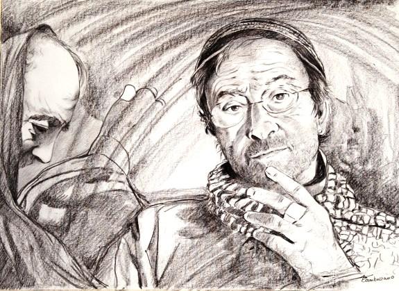 Lucio Dalla e PadrePio f.p.g.c. Piero Laporta a www.lavocedelmarinaio.com