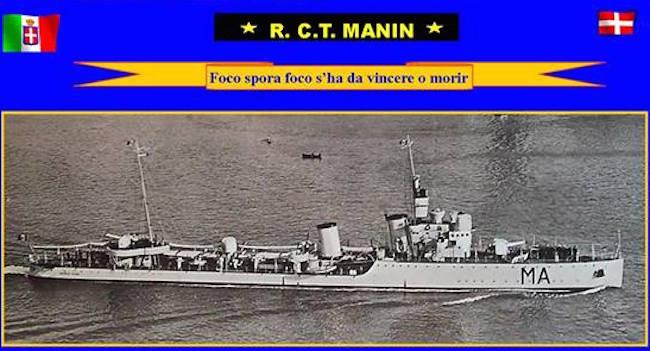 1.5.1927 varo regio cacciatorpediniere nave Manin - www.lavocedelmarinaio.com