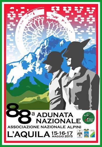 15-17.5.2015 a L'Aquila 88^ adunata nazionale degli Alpini - www.lavocedelmarionaio.com
