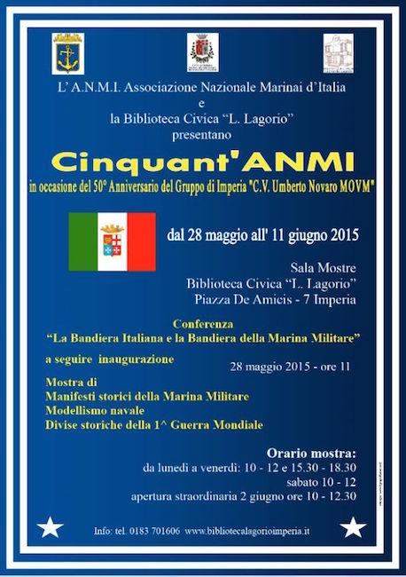 28.5.-11.6.2015 ad Imperia 50° del gruppo - www.lavocedelmarinaio.com