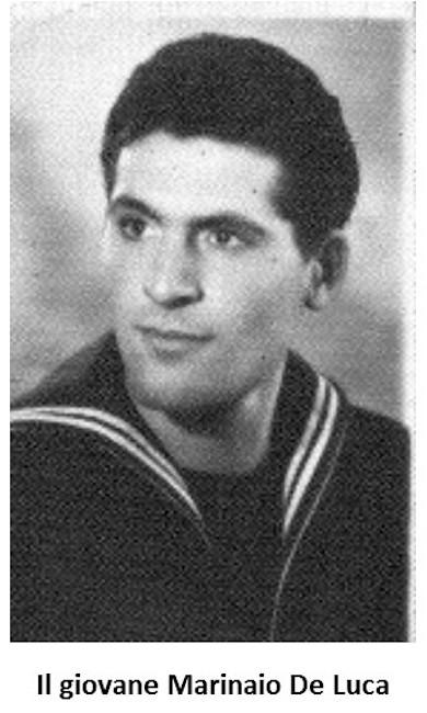 Il giovane marinaio Mario De Luca