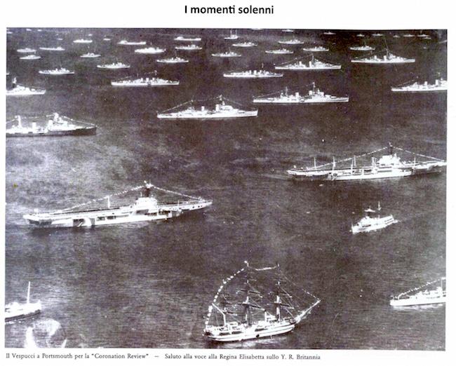 la prima crociera su nave Vespucci effettuata dai cadetti del Corso Oceanici - www.lavocedelmarinaio.com