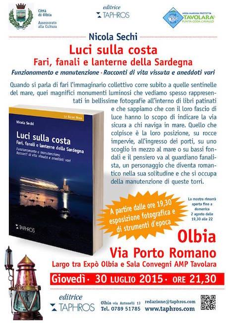 30.7.2015 a Olbia - luci sulla costa (Nicola Sechi) - www.lavocedelmarinaio.com