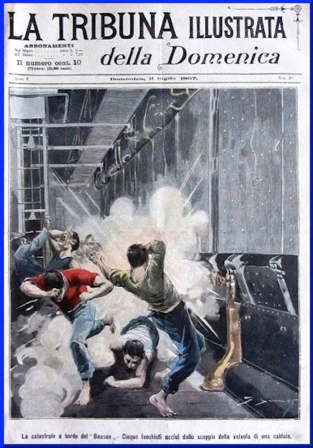 CORRIERE DELLA SERA la catastrode a bordo del Bausan - copia - www.lavocedelmarinaio.com
