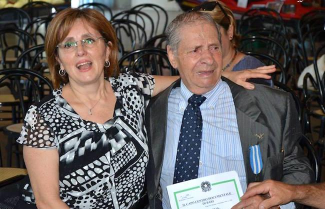 Grazia Di Candia e suo padre per www.lavocedelmarinaio.com