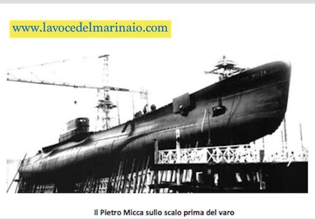 sommergigibile Pietro Micca sullo scalo prima del varo - www.lavocedelmarinaio.com