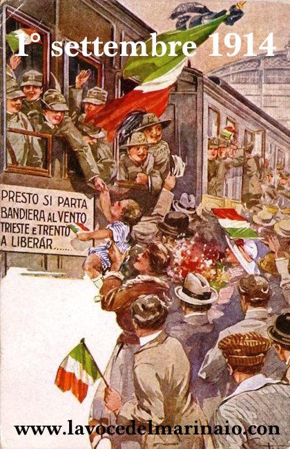 1.9.1914 - 1.9.2014 Centenario Prima guerra mondiale - www.lavocedelmarinaio.com