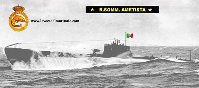 12.9.1943 sommergibile Ametista - www.lavocedelmarinaio.com