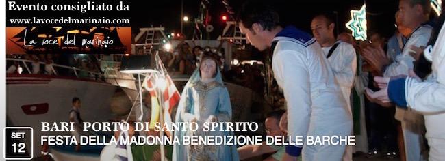 12.9.2015 a Bari marinai di Santo Spirito - www.lavocedelmarinaio.com