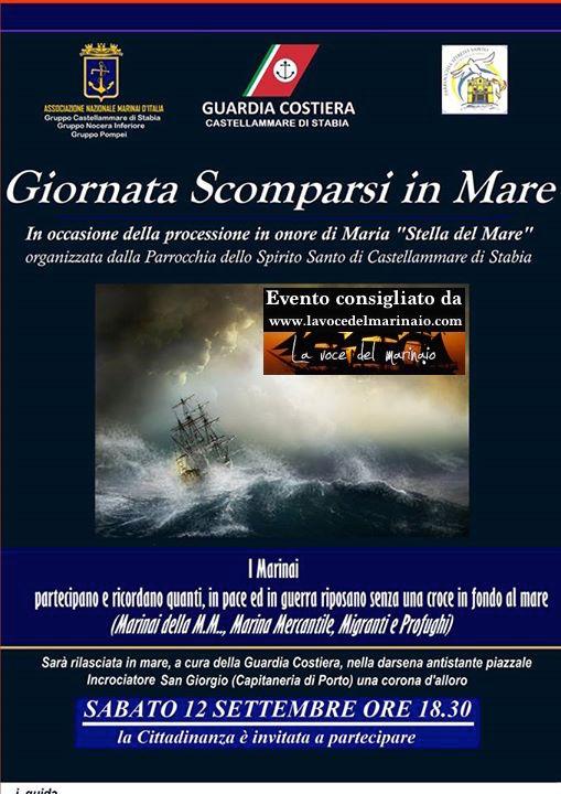 12.9.2015 a Catellammare di Stabia in ricordo dei Marinai caduti in mare - www.lavocedelmarinaio.com
