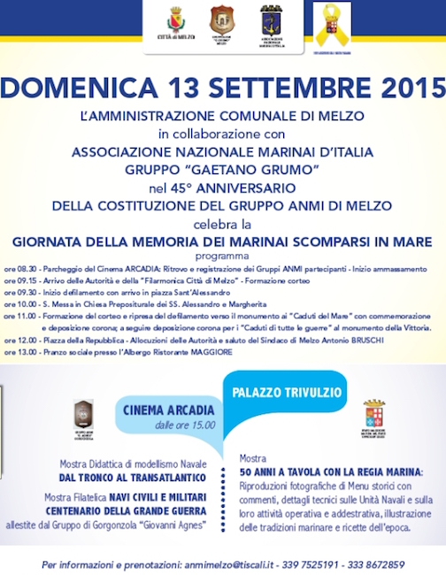 13.9.2015 a Melzo - www.lavocedelmarinaio.com