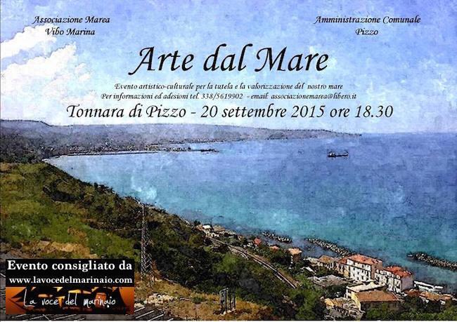 20.9.2015 a Vibo Marina Arte dal mare - www.lavocedelmarinaio.com