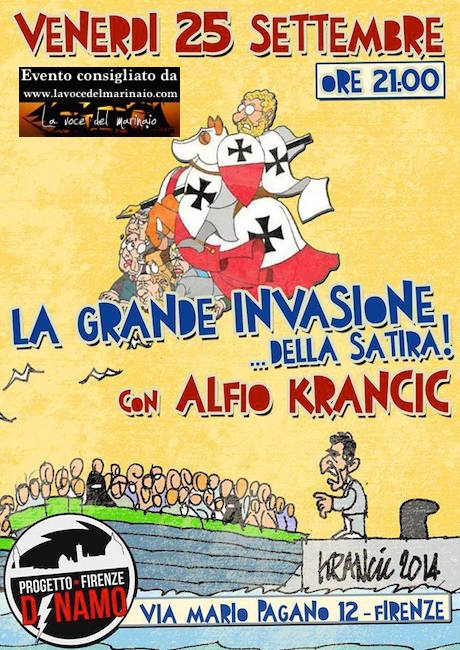 25.9.2015 a Firenze Alfio Krancic