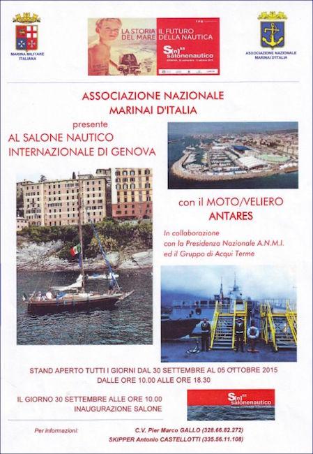 A.N.M.I. AQUI TERME AL SALONE NAUTICO GENOVA - WWW.LAVOCEDELMARINAIO.COM