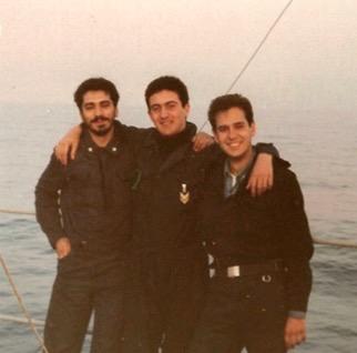 Alberto Mattei (al centro) per www.lavocedelmarinaio.com