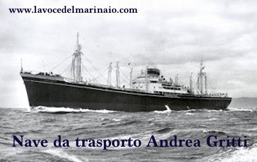 Nave da trasporto Andrea Gritti - www.lavocedelmarinaio.com