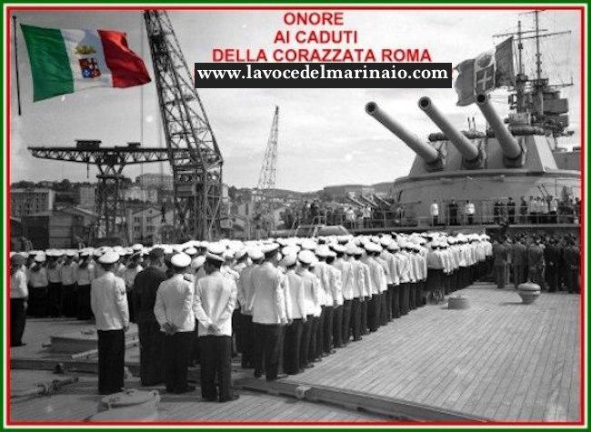 Onori-ai-caduti-della-regia-nave-Roma-www.lavocedelmarinaio.com