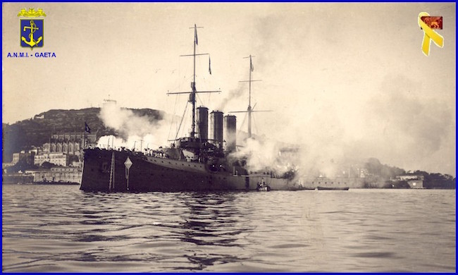 RN Vittorio Emanuele a Gaeta
