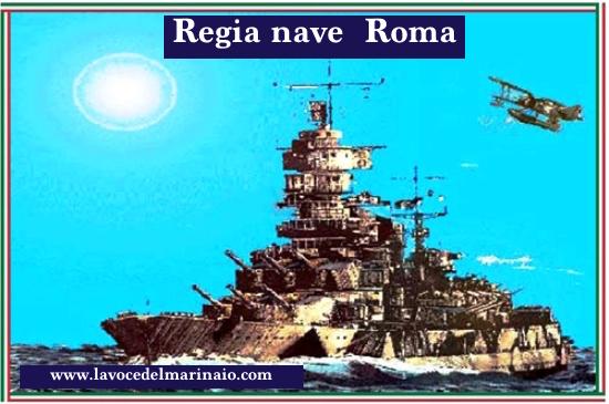Regia nave ROMA - www.lavocedelmarinaio.com