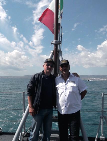 raduno equipaggi nave visintini 2015 - f.p.g.c. Alberto Mattei a www.lavocedelmarinaio.com