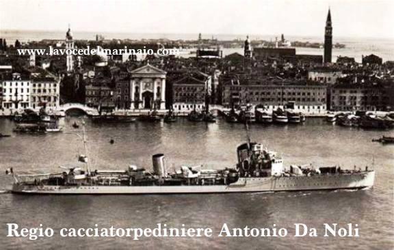 regio cacciatorpedinoiere Antonio Da Noli - www.lvocedelmarinaio.com