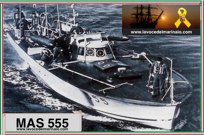 12.11.1943 affondamento MAS 555 - www.lavocedelmarinaio.com