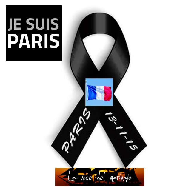 13.11.2015 je suis Paris - www.lavocedelmarinaio.com