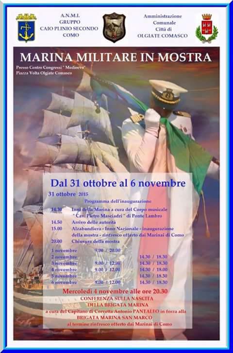 31.10 - 6.11-2015 a Como - www.lavocedelmarinaio.com