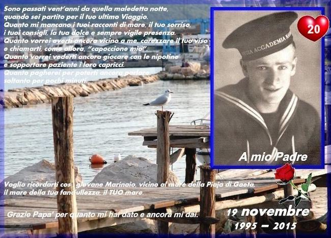 A MIO PADRE VINCENZO DI NITTO (p.g.c. Carlo Di Nitto a www.lavocedelmarinaio.com)