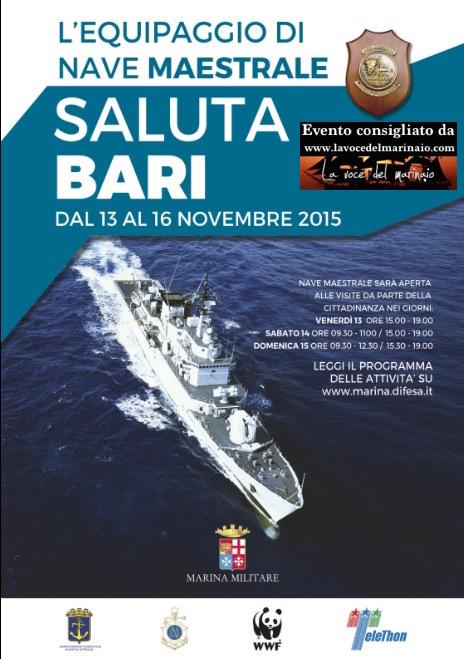 Nave Maetrale in porto a Bari - www.lavocedelmarinaio.com