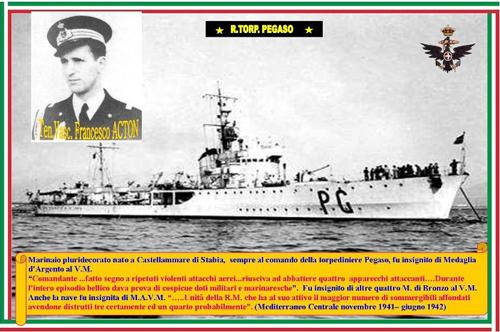 T.V. Francesco Acton- Regio torpediniere Pegaso - www.lavoce del marinaio.com