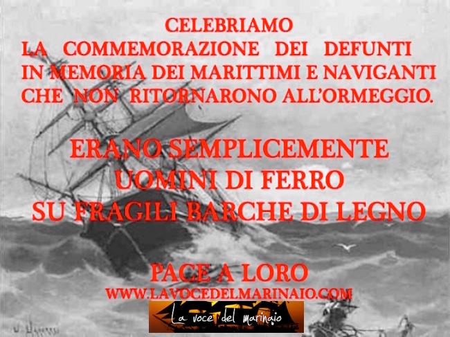 ai caduti del mare - www.lavocedelmarinaio.com