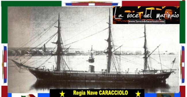 regia corvetta Caracciolo - www.lavocedelmarinaio.com